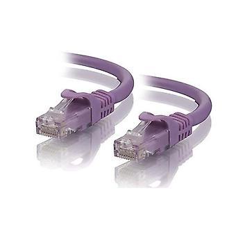 Alogic 5MパープルCat5Eネットワークケーブル
