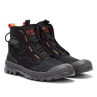 Palladium Pampa Travel Lite Mens Black Boots