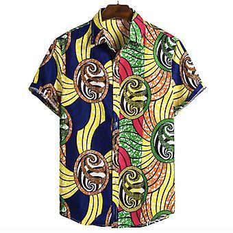 Men & apos;s أفريقيا الهند قميص عارضة