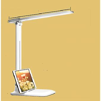 Two-in-one Led Desk Lamp With 3-mode Lighting, Rechargeable Usb, Learning Table