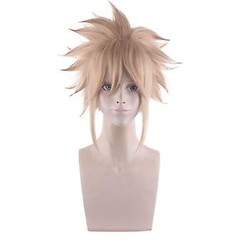 Final Fantasy 7 Perruques Cloud Strife Party Anime Perruques