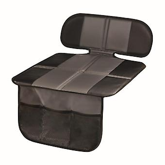 Ochraniacz fotelika samochodowego z kieszeniami, wyściółka z tylnym siedzeniem dla dzieci