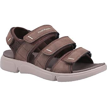 Hush puppies men's raul multi velcro sandal various colours 31983