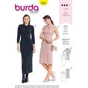 خياطة Burda نمط 6382 يفتقد حجم اللباس 8-18 E 34-44