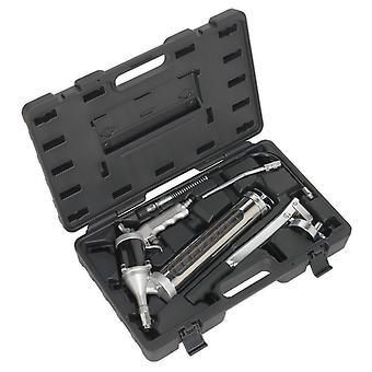 Kit de pistola de grasa Manual aire Sealey Ak45Kit