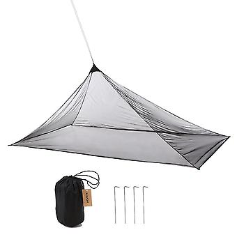 Ultralight insectifuge mailles filet d'insectes en plein air abri pyramide