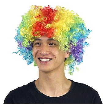 Party Supplies Festive Color Wig Funny Clown