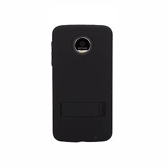 Case-Mate Tough Case with Stand for Moto Z Force Droid - Black