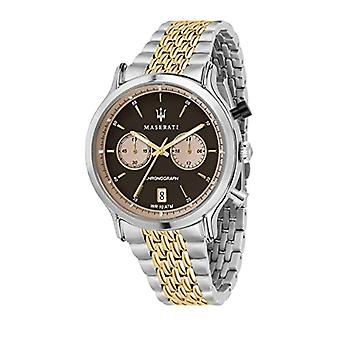 Men's Watch, Legend Collection, steel and yellow gold PVD chronograph-R8873638003