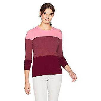 Brand - Lark & Ro Kvinders Crewneck Pullover Cashmere Sweater