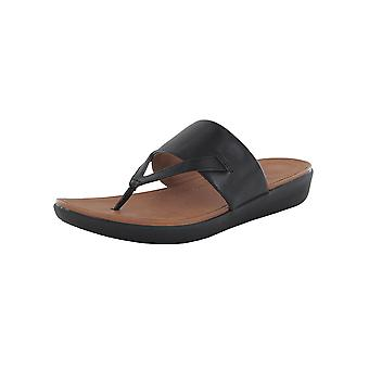 Fitflop Femmes Delta Toe Thong cuir Sandal Chaussures