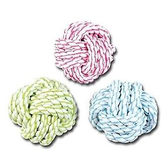 Nayeco Rope Ball Dental Bicolor 7.5 Cm-14 Grs (Dogs , Toys & Sport , Balls)