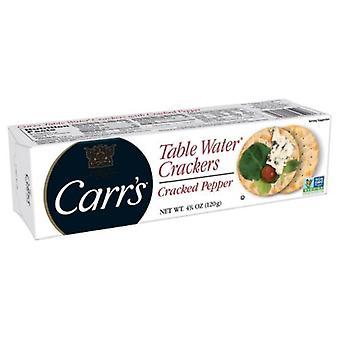 Carr ' s Table vann kjeks sprakk pepper