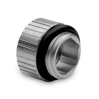 EK Vattenblock EK-Kvantvridmoment 7mm Micro Extender Static Hane till Kvinnlig Montering - Satin Titan