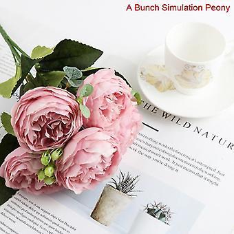 باقة بروفانس الخزامى الزهور الاصطناعية زهرة ذات جودة عالية لمحتق المنزل