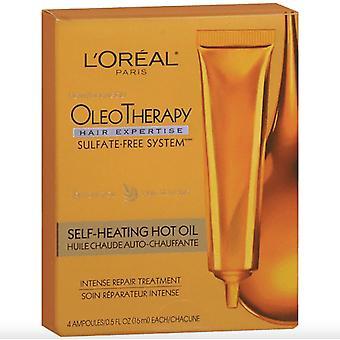 L'Oréal Paris Hair Expertise OléoThérapie Auto-échauffement Huile Chaude Traitement Réparation Intense