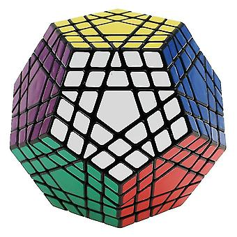 Professional Dodecahedron Magic Cube toy ,Rubik's Cube ,Twist Puzzle Learning Educational(White)