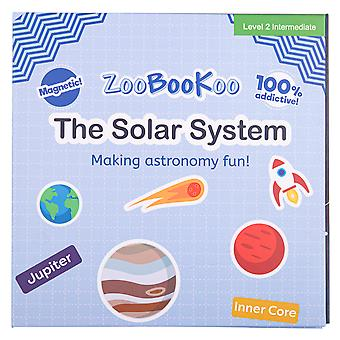 ZooBooKoo The Solar System - Magnet Book