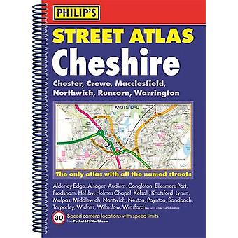 Philips Street Atlas Cheshire by Philips