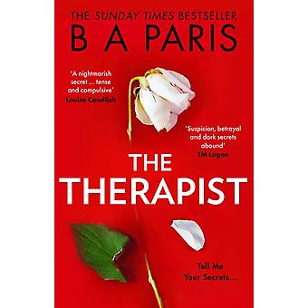 The Therapist by B A Paris