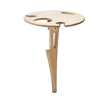 Kannettava viinipöytä ulkona viinipöytä taittuu