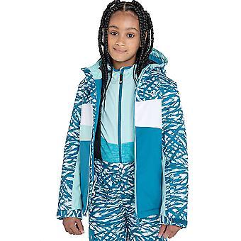 Dare 2b Meisjes Humor Waterdichte Ademende Hooded Coat