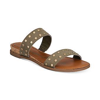 Mujeres de trapo americano Easten Open Toe Slide Casual sandalias