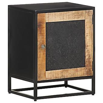 vidaXL طاولة السرير 40x30x50 سم خشب المانجو الخام