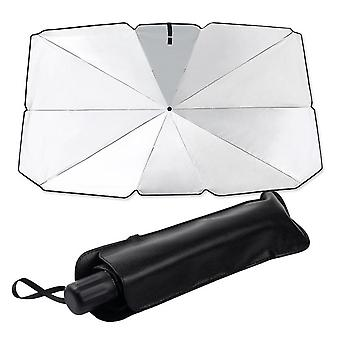 Silktaa Foldable Car Windshield Awning Is Easy To Store And Use