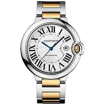 Cartier Ballon Bleu Silver Dial Watch para Hombres - W69009Z3