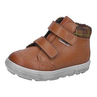 Ricosta Pepino Boys Basti Waterproof Boots Cognac