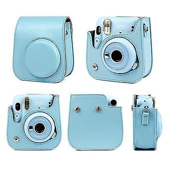 Mini 11 kameratillbehör - Pu läder Instant kameraskydd lock