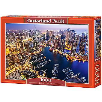 Castorland, Puzzle - Dubai at Night - 1000 Pieces