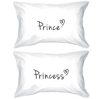 Prince och Princess örngott 300 – tråd - räkna matchande par örngott
