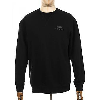 Edwin Jeans bas Sweatshirt - svart