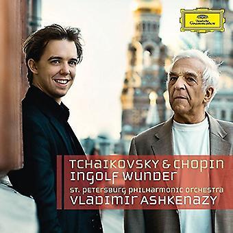 Wunder / Ashkenazy / st Petersburg Philharmonic - Tchaikovsky & Chopin [CD] USA import