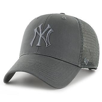 47 العلامة التجارية سائق شاحنة كاب -- برانسون MLB نيويورك يانكيز الفحم