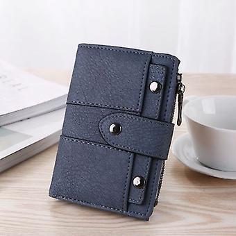 Neueste 2020 Frauen Geldbörse Leder Reißverschluss Münze Geldbörse Clutch Handtasche Kleine Mini Kartenhalter Kurze Geldbörse Münze Id Kreditkarte Pu Handtasche
