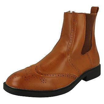 Mens Maverick Casual Ankle Boot