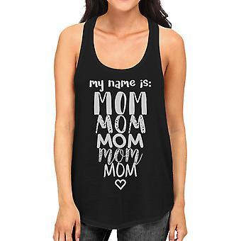 اسمي أمي المرأة السوداء راسيرباك دبابة هدية بارع أعلى للأمهات