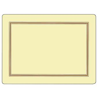 Pimpernel Classic Cream Placemats Set of 6