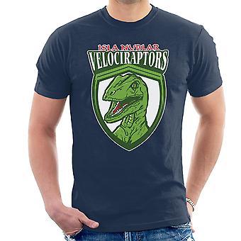 Jurassic Park Isla Nublar Velociraptors mannen T-Shirt