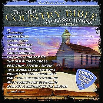 Various Artist - 25 Classic Hymns From the Old Country Bible [CD] USA import