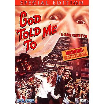 God Told Me to [DVD] USA import