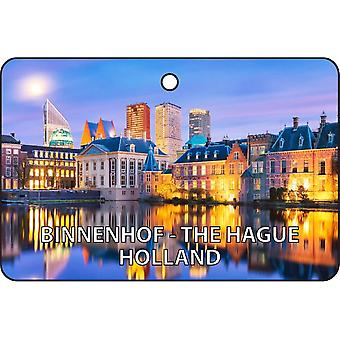 Binnenhof - la Haye - Hollande Car Air Freshener