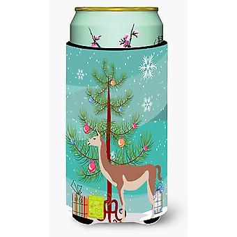Guanaco Christmas Tall Boy Beverage Insulator Hugger