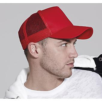 Beechfield Unisex puoli silmän rekkakuski hattu
