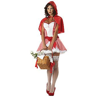 Miss Red Riding Hood Fairytale Women Costume