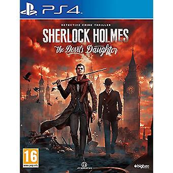 Sherlock Holmes The Devils Daughter (PS4) - Nouveau