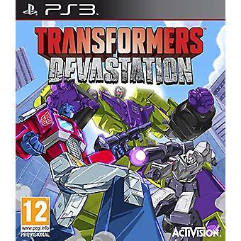 Transformatoren Verwüstung (PS3) - Neu
